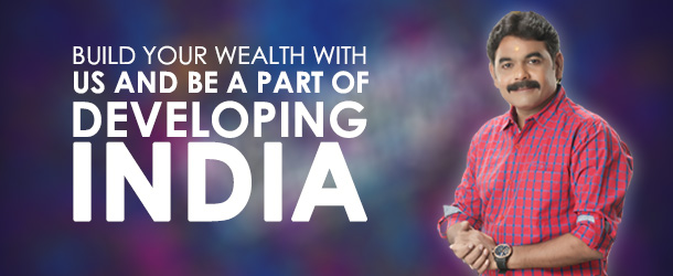 Chetan Patel Calls Banner Build Your Wealth With us And Be a Part of Developing India